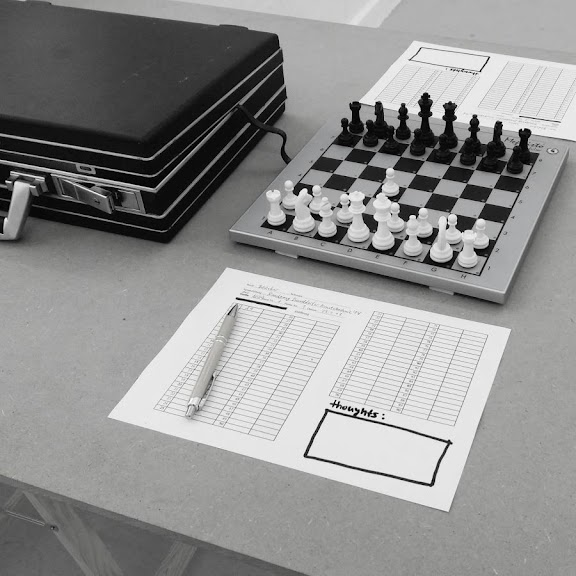 Till Bödeker: Till on Chess (2019). Rundgang Kunstakademie Düsseldorf (2018)
